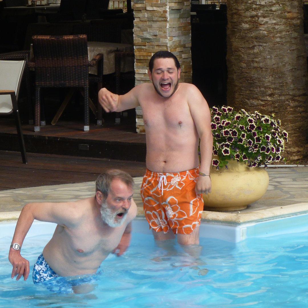Philippe, champion aquatique