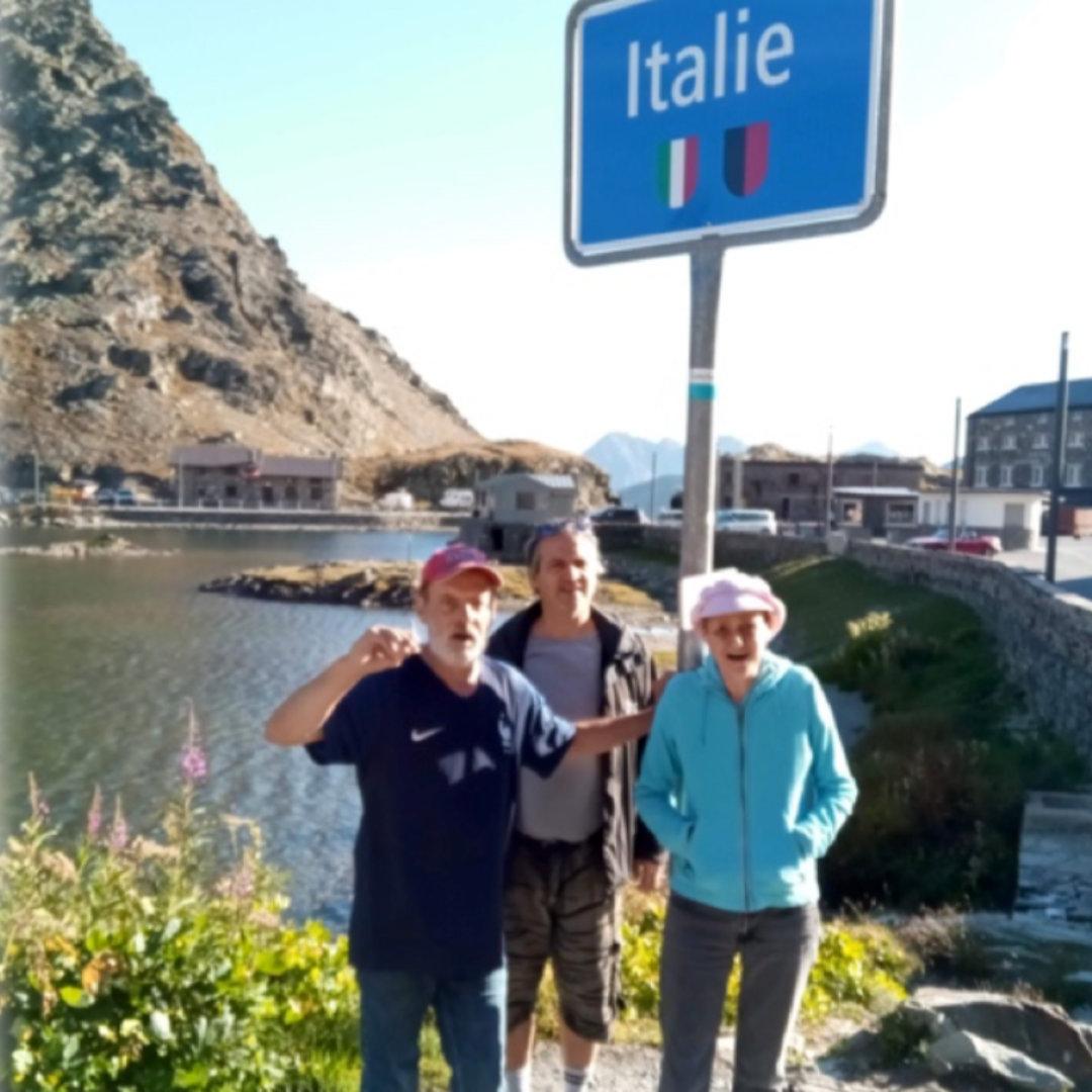 Sortie Italie
